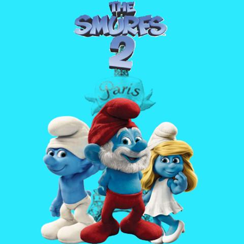 Our first screening! SMURFS 2